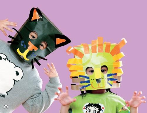 亲亲宝贝 【手脑并用艺廊】动物面具 2011/11/20康轩幼教编辑部 材